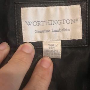 Worthington Jackets & Coats - WORTHINGTON genuine lamb skin leather blazer